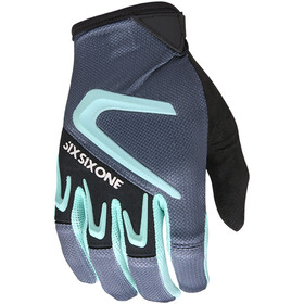 SixSixOne Rage Gloves Herr gray